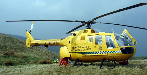 Bo 105 NW Air Ambulance (foto NW Air Ambulance)