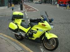 Rapid Response Unit - záchranářský motocykl